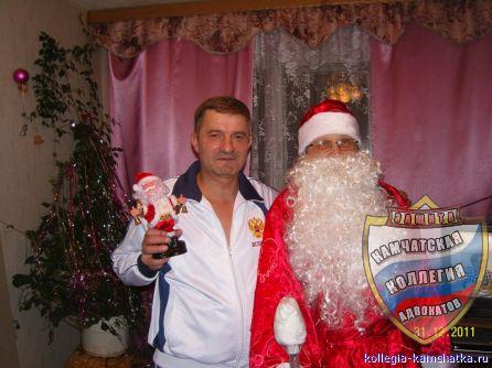 Маленький Дед Мороз... Большой Дед Мороз...