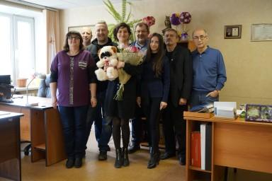 2 ноября 2018 года. Коллектив поздравил адвоката Светлану Копытову с днем рождения