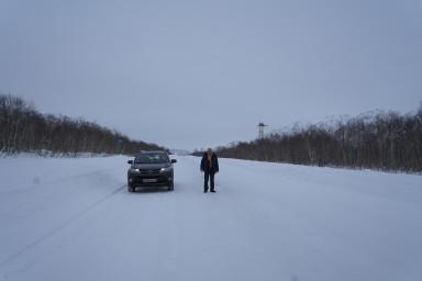 Дорога в Усть-Большерецк