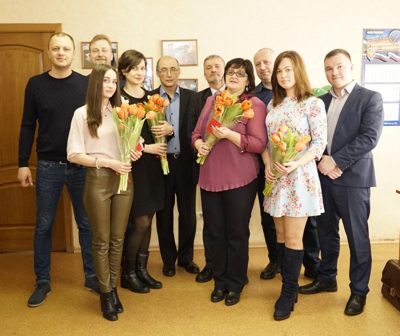 7 марта 2018 года. Коллектив коллегии поздравил женщин с 8 марта