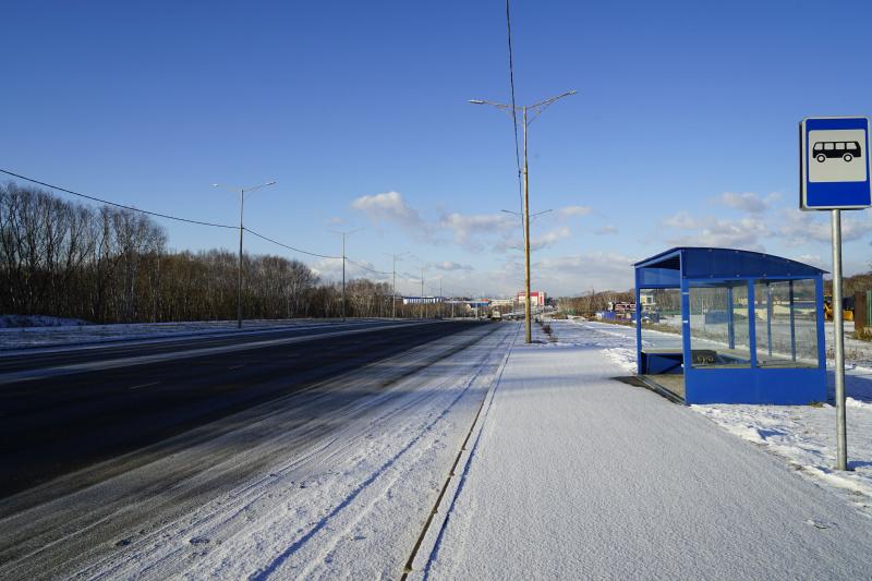 вид проспекта Содружества в сторону улицы Ломоносова