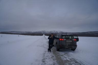 По дороге из Усть-Большерецка в Петропавловск-Камчатский