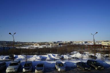 вид города от здания Арбитражного суда Камчатского края