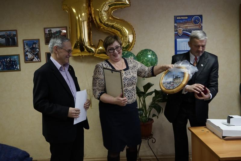 22 февраля 2018 года. Собрание по случаю 15 летия образования коллегии. Награждается адвокат Наталия Савчук