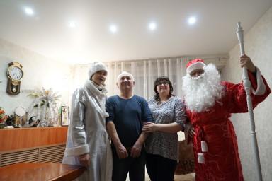 Дед Мороз поздравил семью адвоката Екатерины Казьмировой