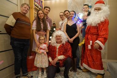 Дед Мороз поздравил гостей главного бухгалтера коллегии