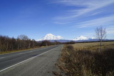 Дорога из Мильково в Петропавловск-Камчатский (выезд из Елизово)