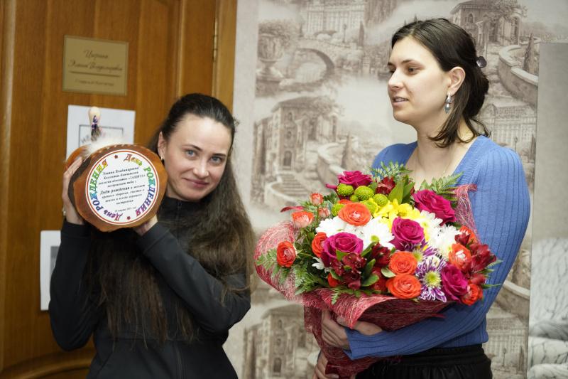 30 марта 2021 года. Поздравляем Элаину Владимировну с днем рождения